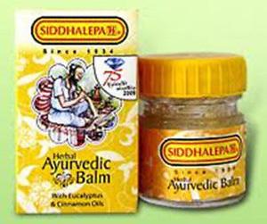 Siddhalepa Balm Headache & Pain Reliever