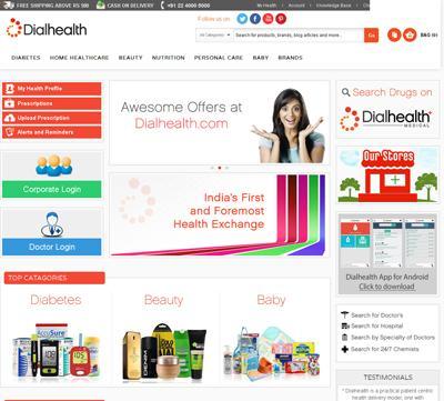 Dialhealth Online Store