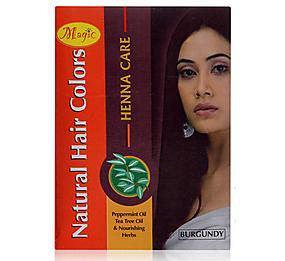 Nature's Essence Natural Hair Colors, Burgundy