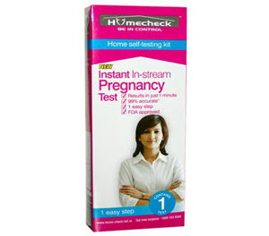 Homecheck Instant In-Stream Pregnancy Test