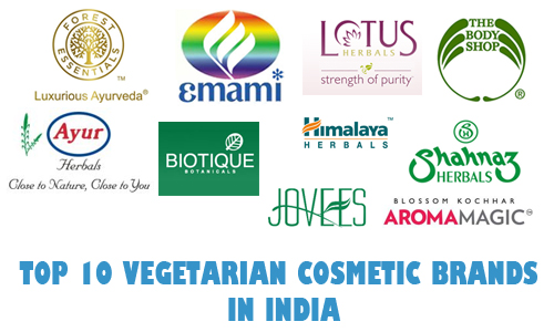 Top 10 Vegetarian Cosmetic Brands in India