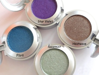 Colorbar Eyeshadows