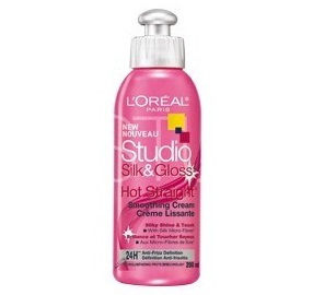 L'Oreal Studio Line Silk & Gloss Hot Straightening Cream