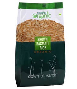 Down To Earth Organic Brown Rice