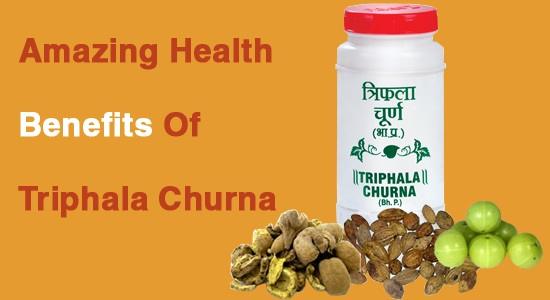 Triphala Churna health Benefits