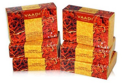 Vaadi Herbals Luxurious Saffron Soap