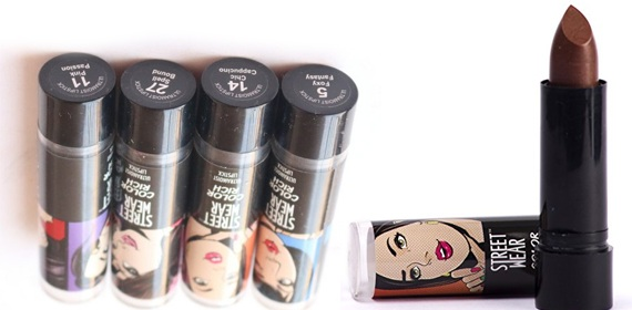 Street Wear Color Rich Ultra Moist Lipstick in Hot Ginger Review