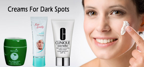 Creams For Dark Spots India
