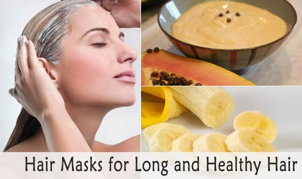 Hair Masks for Long and Healthy Hair