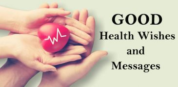 good health wishes, get well soon messages